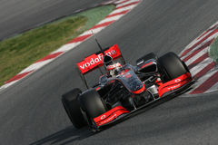 F1 2009 - Heikki Kovalainen McLaren Royalty Free Stock Images