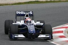 F1 2009 - Kazuki Nakajima Williams Stock Photography