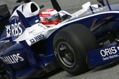 F1 2009 - Kazuki Nakajima Williams Image libre de droits