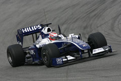 F1 2009 - Kazuki Nakajima Williams Stock Images