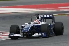 F1 2009 - Kazuki Nakajima Williams Royalty Free Stock Photos