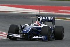 F1 2009 - Kazuki Nakajima Williams Royalty Free Stock Photography