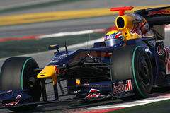 F1 2009 - Markieren Sie Webber Red Bull Stockfoto