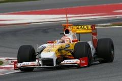 F1 2009 - Nelson Piquet Renault Stock Photos