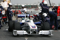 F1 2009 - Nick Heidfeld BMW Sauber Royalty Free Stock Image