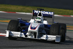 F1 2009 - Nick Heidfeld BMW Sauber Stock Images