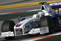 F1 2009 - Nick Heidfeld BMW Sauber Stock Photo