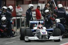 F1 2009 - Robert Kubica BMW Sauber Stock Images
