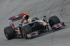 F1 2009 - Sebastien Bourdais Toro Rosso Royalty Free Stock Photos