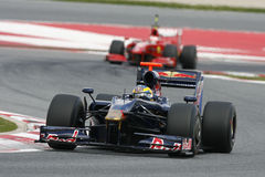 F1 2009 - Sebastien Bourdais Toro Rosso Photo libre de droits