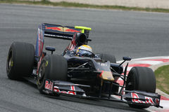 F1 2009 - Sebastien Buemi Toro Rosso Royalty Free Stock Photos