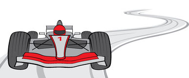 Formula One Racing Car Stock Image