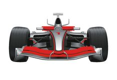 Formula One Racing Car Stock Photos