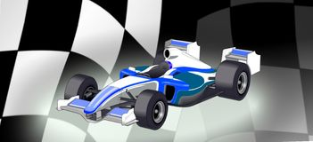 F1 auto Royalty-vrije Stock Fotografie