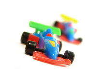F1 auto'sstuk speelgoed stock fotografie