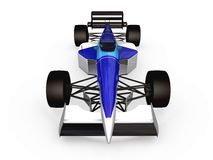 F1 blue racing car vol 2. 3d F1 blue racing car vol 2 Royalty Free Stock Photography