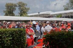 F1 champion Red Bull driver Sebastian Vettel Royalty Free Stock Photo