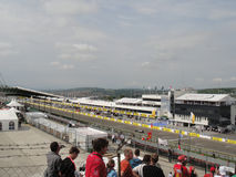 F1 Circuit. 29-31 July 2011 Budapest, Hungary : Formula 1 Competition On Circuit Of Hungaroring Royalty Free Stock Images