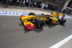 F1 de Kring 2010 van de Straat van Valencia Stock Afbeeldingen