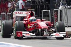 F1 de Kring 2010 van de Straat van Valencia Royalty-vrije Stock Afbeeldingen