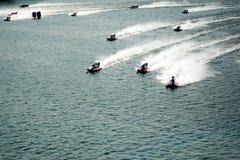 F1 emballe des bateaux Photographie stock