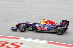 F1 Grandprix 2011 chez Sepang Malaisie Photos stock