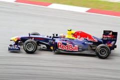 F1 Grandprix 2011 chez Sepang Malaisie Image libre de droits