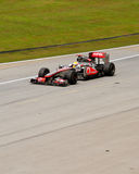F1 Grandprix 2011 at Sepang Malaysia Royalty Free Stock Photos