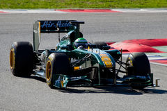 F1 Heikki Kovalainen Royalty Free Stock Images