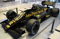 F1 loto JPS 98T (1986) Fotos de archivo