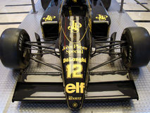 F1 Lotus JPS 98T (1986) stock photo