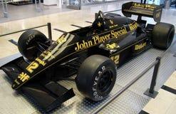 F1 lotusblomma JPS 98T (1986) Arkivfoton