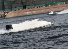 F1 Powerboat Racing Stock Photography