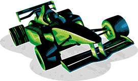 F1 Race Car Stock Images