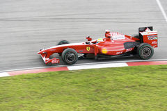 F1 Racing 2009 - Felipe Massa (Ferrari) Stock Photo