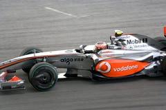 F1 Racing 2009 - Heikki Kovalainen (McLaren) Royalty Free Stock Image