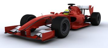 F1 Racing Car Royalty Free Stock Image