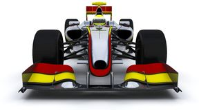 F1 Racing Car Stock Image