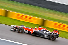 F1 racing at Montreal Grand prix Royalty Free Stock Photography