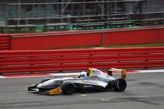 F1 Renault Racing Car Stock Photo
