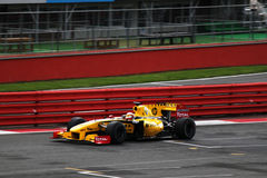 F1 Renault Racing Car Stock Photo