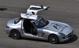 F1 Safety Car Stock Images