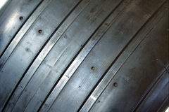F1 slick tire Stock Photos