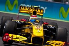 F1 Valencia Straßen-Kreisläuf 2010 Lizenzfreie Stockbilder