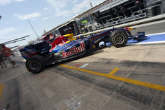F1 Valencia Street Circuit 2010 Stock Photography