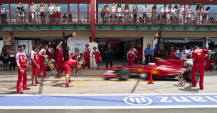 F1 Valencia Street Circuit 2010 Royalty Free Stock Photography