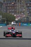 F1 Valencia Street Circuit 2010 Royalty Free Stock Photography