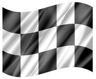 F1 wave flag Stock Images
