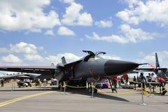F111 su visualizzazione Fotografie Stock