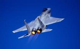 F15 Climbing stock image